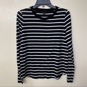 Cos stripe long sleeve top